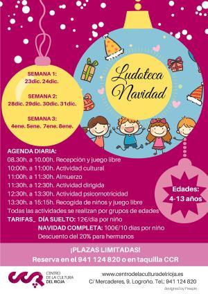 Programación de Navidad del Centro de la Cultura del Rioja
