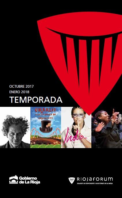 Programación cultural octubre 2017 - enero 2018