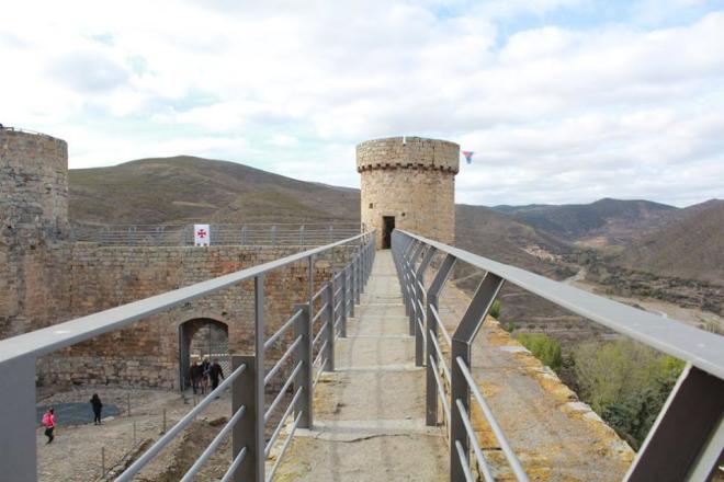 Castillo fortaleza de Cornago