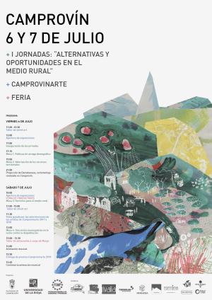 """CAMPROVINARTE + Feria + I Jornadas: """"Alternativas y oportunidades en el medio rural"""""""