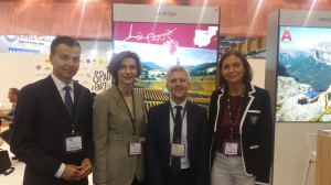 Presentación de la oferta turística de La Rioja en la feria World Travel Market de Londres