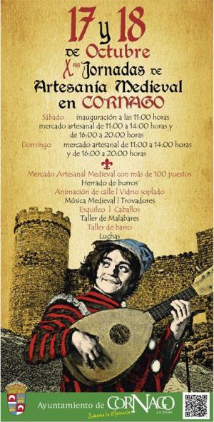 X Jornadas de Artesanía Medieval en Cornago