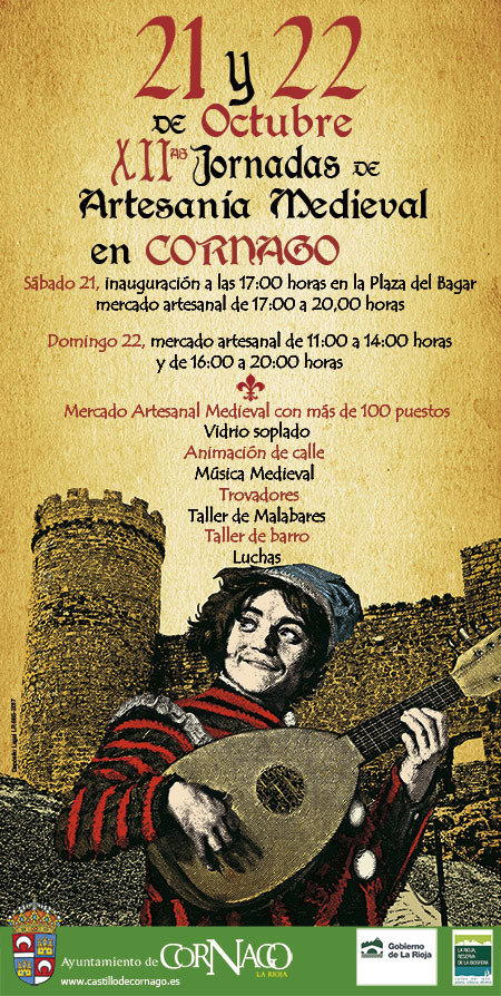 XII Jornadas de Artesanía Medieval en Cornago