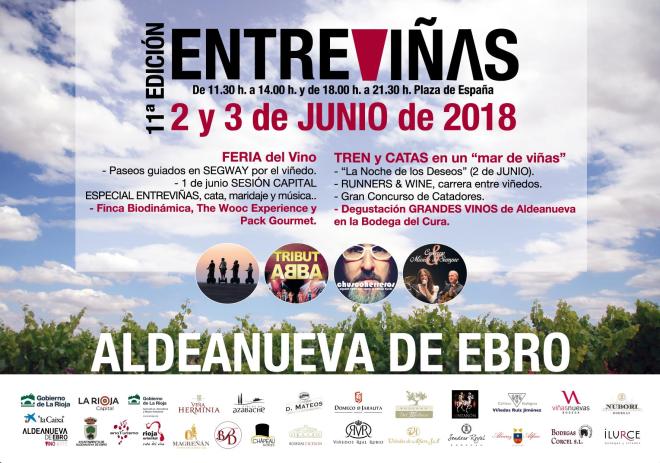 11ª Feria Entreviñas: Feria del Vino de Aldeanueva de Ebro