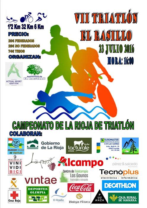 VII Triatlón El Rasillo 2016