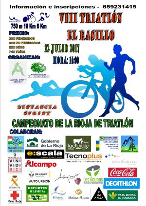 VIII Triatlón El Rasillo 2017