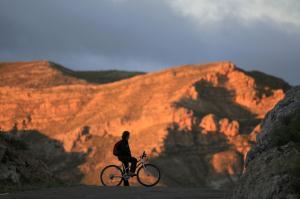 Moutainbike-Tour: Der grüne Weg entlang des Alhama