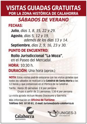 Visitas guiadas por el centro histórico de Calahorra