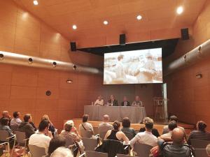 Rodríguez Osés ha participado en la presentación  del Cuaderno de Viaje y Ruta Hemingway