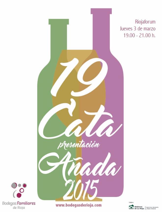 XIX Cata Presentación Añada de Bodegas Familiares de Rioja