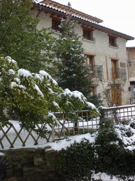 La nieve es una chivata. ¿Quién vive aquí?