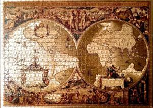 "Exposición de Puzzles ""Mapamundis"""