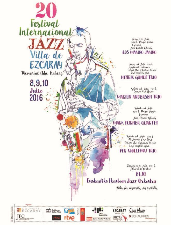 """XX Festival de Jazz de Ezcaray - """"Memorial Ebbe Traberg"""""""