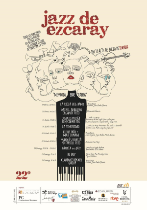 "XXII Festival de Jazz de Ezcaray - ""Memorial Ebbe Traberg"""