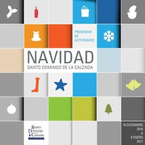Programación de Navidad en Santo Domingo de la Calzada