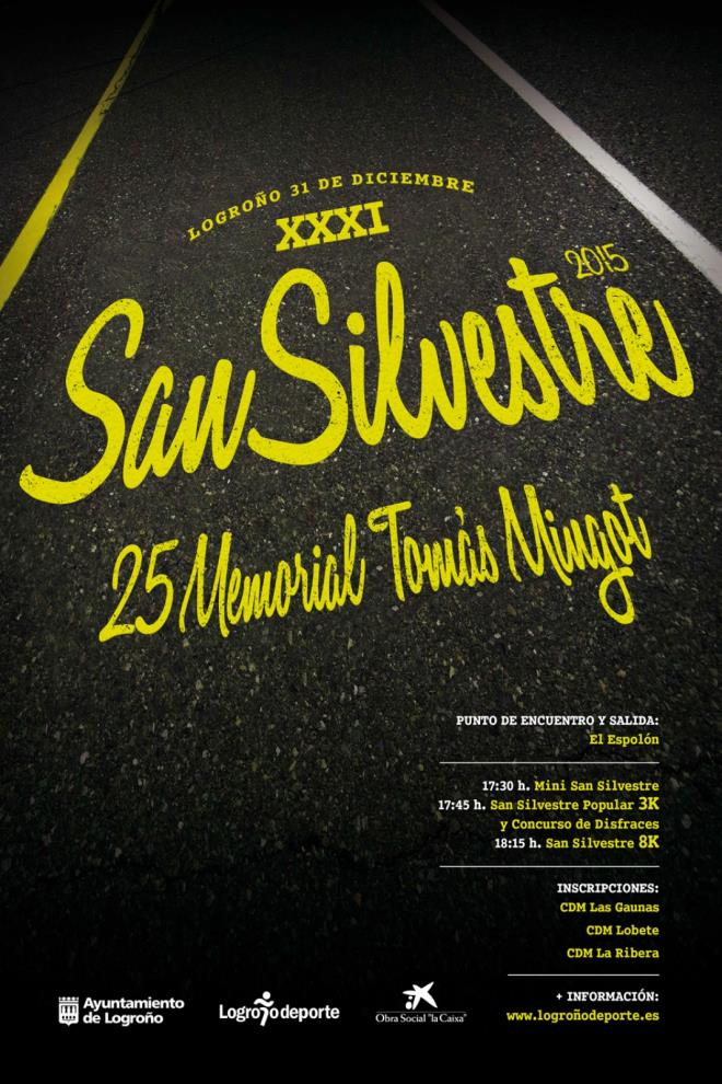 XXXI San Silvestre. 25 Memorial Tomás Mingot.