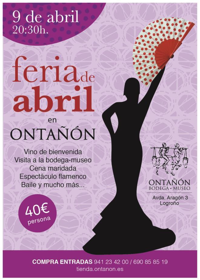 Feria de abril en Bodegas Ontañón