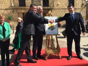 Ceniceros considera que la distinción de Sajazarra como uno de los pueblos más bonitos de España aumentará la promoción turística del municipio
