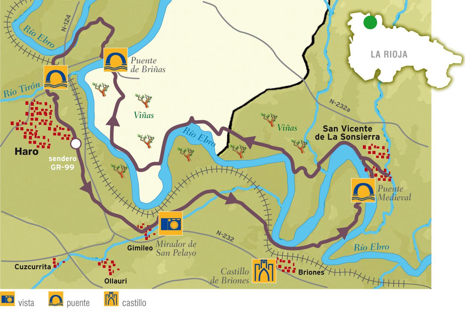 Ruta en BTT La Rioja Alta La Rioja Turismo