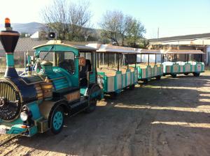 Tren turístico a la Reserva Natural de los Sotos del Ebro