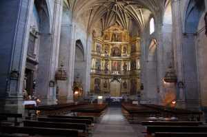 Santiago el Real parish church in Logroño