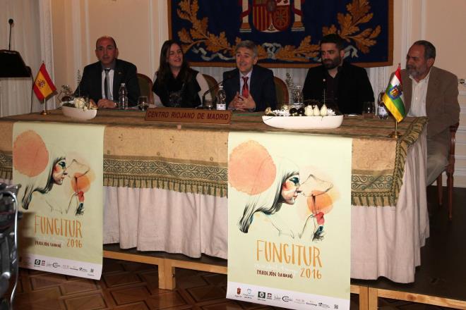 Rodríguez Osés ha participado en la presentación de la IV edición de Fungitur en Madrid