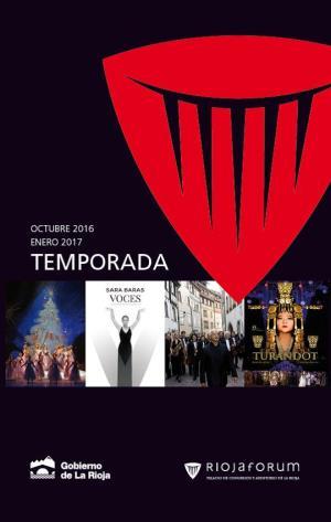 Sara Baras, Yebra y la Ópera de Moldavia, platos fuertes en Riojaforum