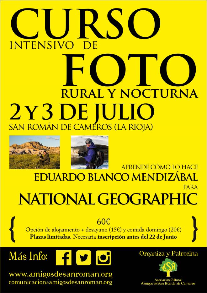 Curso de foto rural y nocturna en San Román de Cameros