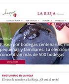 Presentación nuevo portal turístico de La Rioja