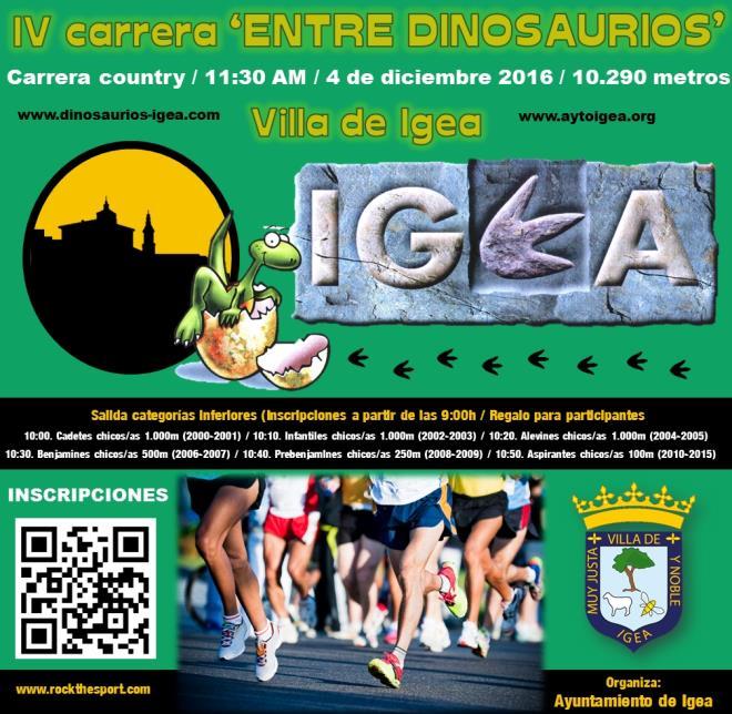 """III Carrera """"Entre Dinosaurios - Villa de Igea"""""""