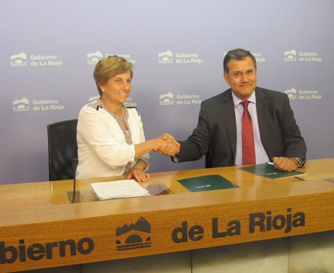 El Gobierno de La Rioja y la Fundación Caja Rioja colaborarán para el desarrollo y los contenidos expositivos de La Rioja Tierra Abierta. Arnedo 2017