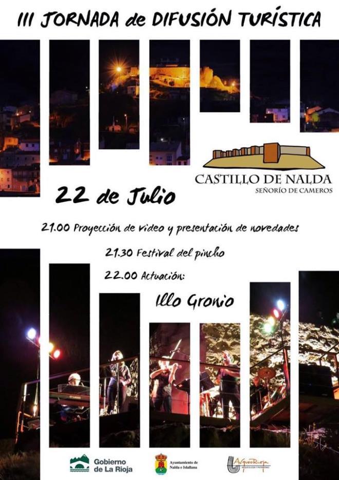 III Jornada de Difusión Turística del Castillo de Nalda