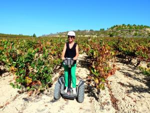 Segway entre viñedos