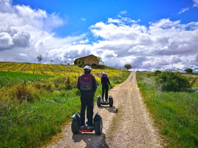 Otoño en segway desde La Rioja Alta