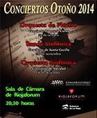 Conciertos de Navidad en la Sala de Cámara de Riojaforum y en el Auditorio municipal