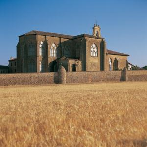 Monasterio de Santa María del Salvador. Cañas