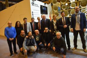 Ceniceros subraya que La Rioja es un destino turístico de interior único e innovador, que este año cuenta con La Rioja Tierra Abierta de Arnedo como acontecimiento singular
