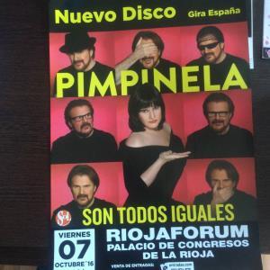 """Viernes 7 de octubre de 2016, a las 21 horas, en el Riojaforum actuación del dúo """"Pimpinela"""""""