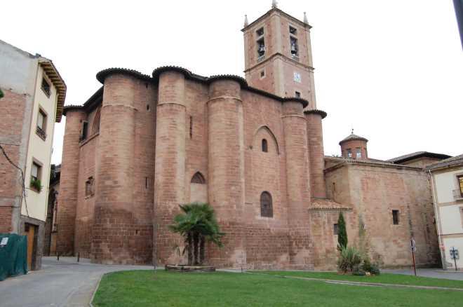 Exmonasterio de Santa María la Real en Nájera