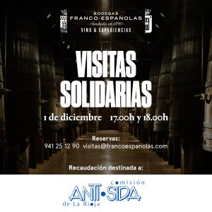 En el Día Mundial del Sida, visitas y catas solidarias en Franco-Españolas