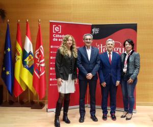 Inauguración del I Congreso Internacional Lengua, Literatura, Vino y Territorio