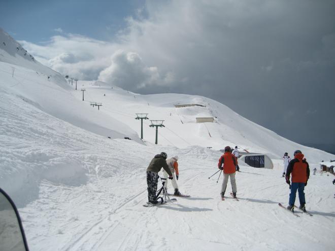 La estación de Valdezcaray abrirá este fin de semana para su uso turístico