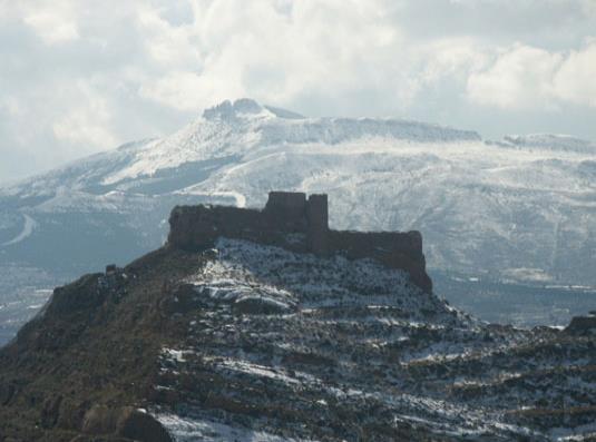 Castillo roquero de Arnedo
