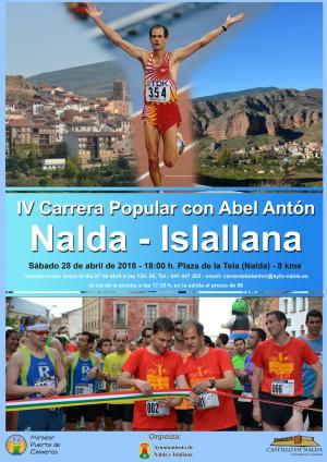 IV Carrera Popular con Abel Antón Nalda-Islallana
