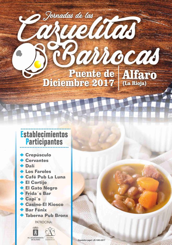 Jornadas de las Cazuelitas Barrocas de Alfaro