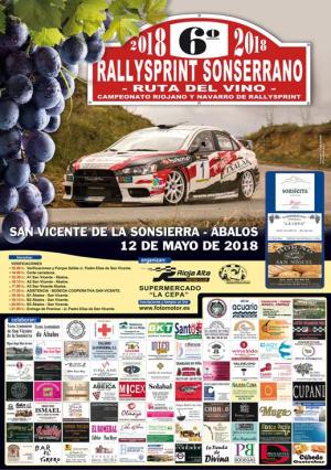 6º Rallysprint Sonserrano Ruta del Vino