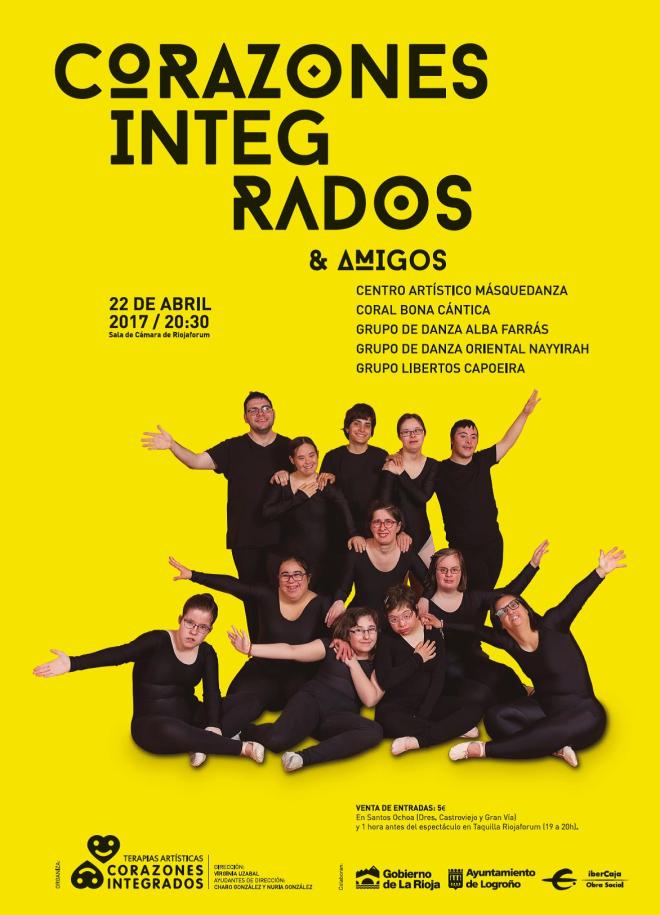 """La gala 'Corazones Integrados & Amigos' demostrará una vez más que en el mundo de la danza """"los límites tampoco existen"""""""