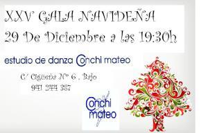 XXV GALA NAVIDEÑA ESTUDIO DE DANZA CONCHI MATEO