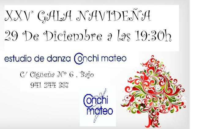 Exposiciones Tickets Cómo Llegar: XXV GALA NAVIDEÑA ESTUDIO DE DANZA CONCHI MATEO