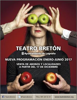Programación Teatro Bretón de Logroño